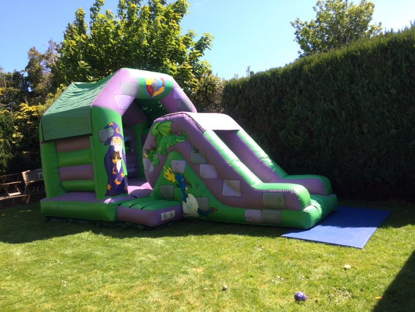 Wizards & Dragons Combo Bouncy Castle